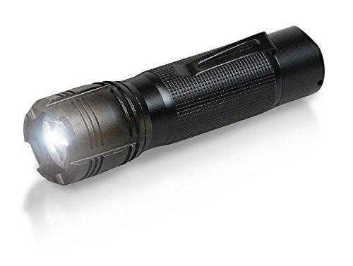 ANSMANN 1600-0036 Agent 5 LED Taschenlampe 13 cm mit Präzisionslinse und extrem robustem Gehäuse 5 Watt LED (Led Handschuhe Polizei)