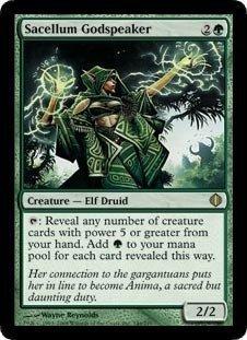 Magic: the Gathering - Sacellum Godspeaker - Shards of Alara - Foil by Magic: the Gathering