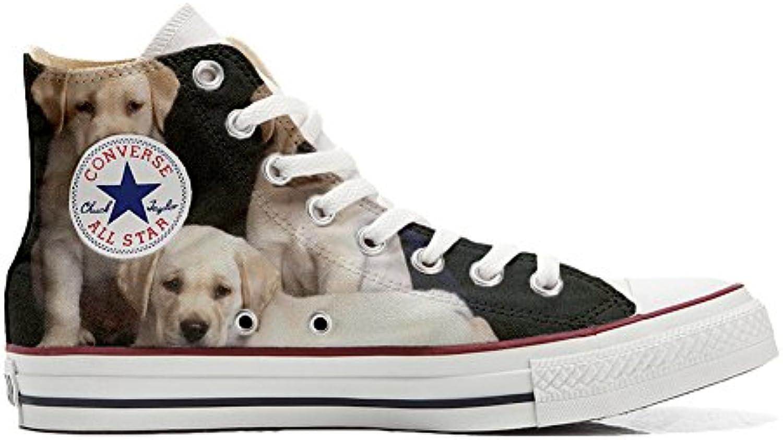 Converse All Star personalisierte Schuhe (Handwerk Produkt) mit Hundewelpen