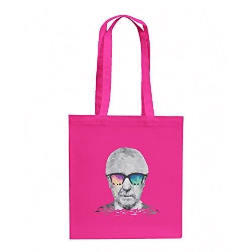 NERDO Poly Psychedelic Albert - Stoffbeutel, pink