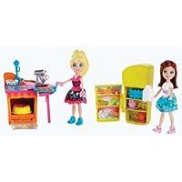 Mondo bambole Polly Pocket Playset completo nuovo partito