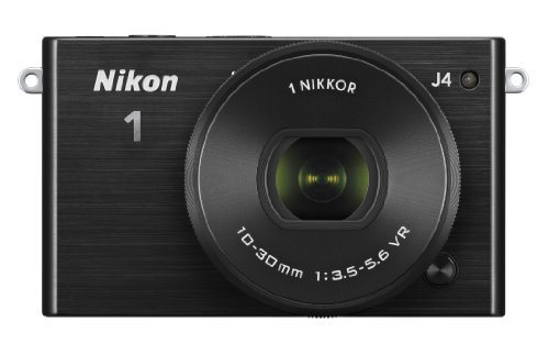 Nikon 1 J4 Mirrorless Digital Camera with 1 Nikkor 10-30mm f/3.5-5.6 PD Zoom Lens (Black)