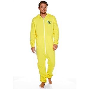Breaking Bad - Combinaison jumpsuit tenue de laboratoire d'Heisenberg avec lo...