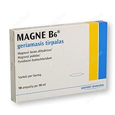 Magne B6 oral solution in ampoules N10 from Magne B6