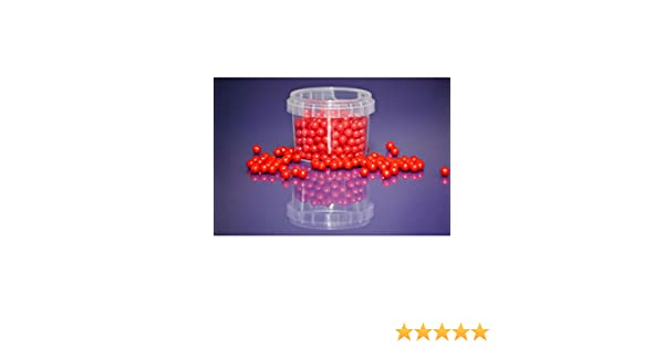 90g Red Edible 7mm Sugar Pearls Balls for Cake Cupcake Sprinkles Decoration