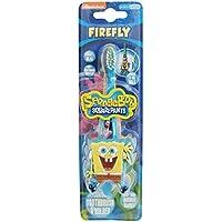 Firefly niños de Bob Esponja de Nickelodeon square-pants Junior – Cepillo de dientes con soporte de pared suave.