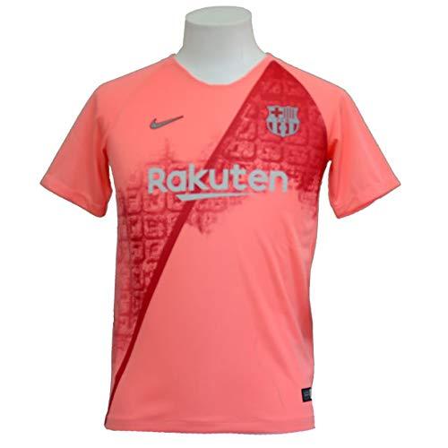 Nike Kinder FC Barcelona Breathe Stadium 3rd T-Shirt, Light Atomic Pink/Silver, XS Preisvergleich