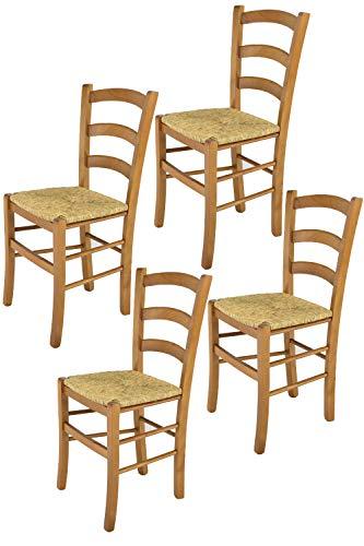 Sedie In Rovere Per Cucina.Tommychairs Sedie Di Design Set Di 4 Sedie Modello Venice