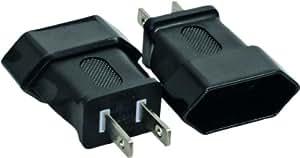 InLine Netzadapter USA, US-Stecker 2pin auf Euro-Buchse