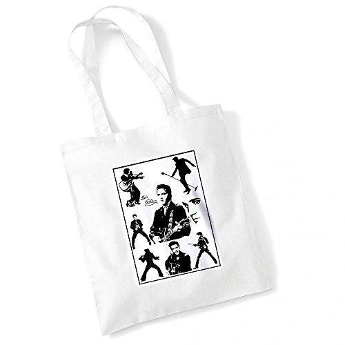 Elvis Tasche Geschenk. Kann mit. Muttertag, Geburtstag, Weihnachten, Nanny, Großmutter, Granny, Gran Geschenk