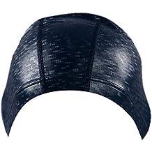 BHYDRY Sombrero de natación Adulto Duradero elástico de Silicona Piscina de Playa Cabeza de natación Gorra