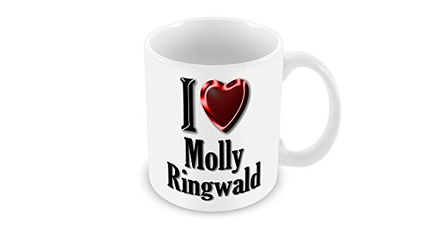 Chalkhill Printing Company Cp 389 Actress Mug I Love Molly Ringwald Amazon Co Uk Kitchen Home