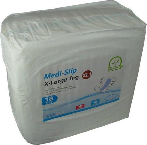 Windeln für Erwachsene Inkontinenzwindeln Inkontinenz Medi - Slip Medi-Inn ver Gr.(72 Stück,X-Large 1 (3000 ml))