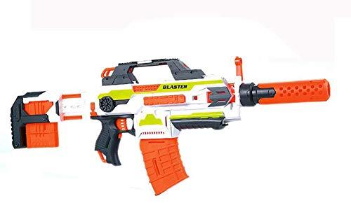 Brigamo Elektrisches Gewehr Schnellfeuer Softdart Blaster Elite Flame War inkl. Munition