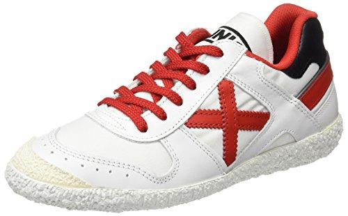 Munich Goal, Chaussures femme Blanc