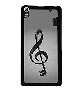 Sign Key 2D Hard Polycarbonate Designer Back Case Cover for Lenovo A7000 :: Lenovo A7000 Plus :: Lenovo K3 Note