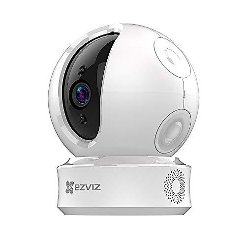 Foto EZVIZ C6C 720p Telecamera di Sorveglianza, 360° WiFi Videocamera Interno,...