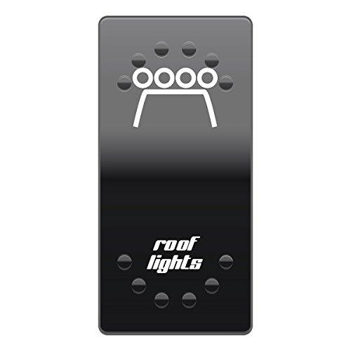 Roof lights horntools Offroad Switch Wipp Schalter Laserbeschriftet für Hintergrundbeleuchtung horntools Rocker Switch (Light Switch Cover)