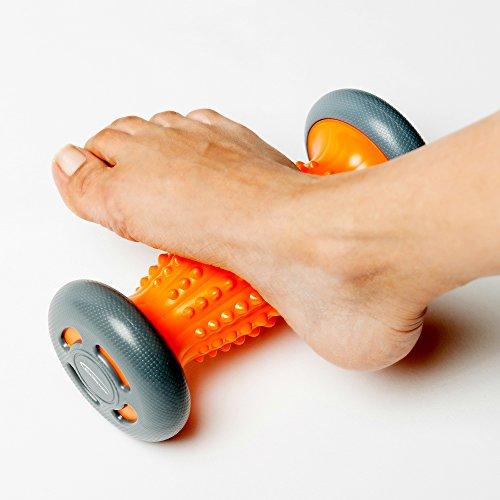 Fußmassage-Rolle für Plantarfasziitis, Schmerzlinderung für Hacken & Fußgewölbe. Stressreduzierung und Entspannung durch Triggerpunkt-Therapie -