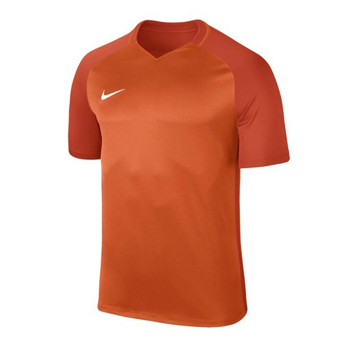 Nike Herren Trophy III Jersey Shortsleeve Trikot, Safety Team orange/White, S