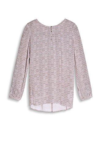 ESPRIT Collection Damen Bluse Mehrfarbig (Off White 110)