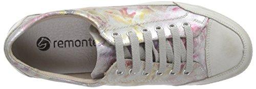 Remonte Dorndorfr2306 - Scarpe stringate Donna Multicolore (Weiss/multi/90)