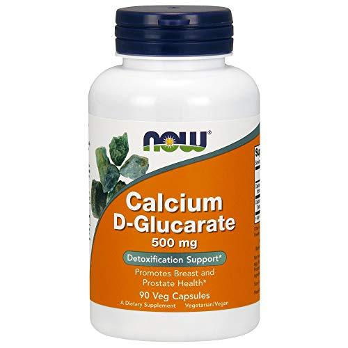 Now Foods Kalzium D-Glucarat 500 mg, 90 vegane Kapseln, glutenfrei, sojafrei, 90 g