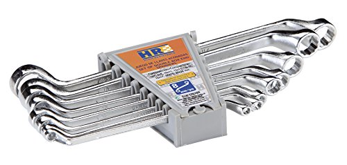 RH 170280 Juego 8 Llaves Acodadas HR 6X7 A, 0 V, Set de 8 Piezas