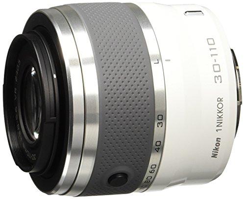 Nikon 1 Nikkor VR 30-110 mm 1:3,8-5,6 Objektiv weiß (Nikon Aw1-kamera)