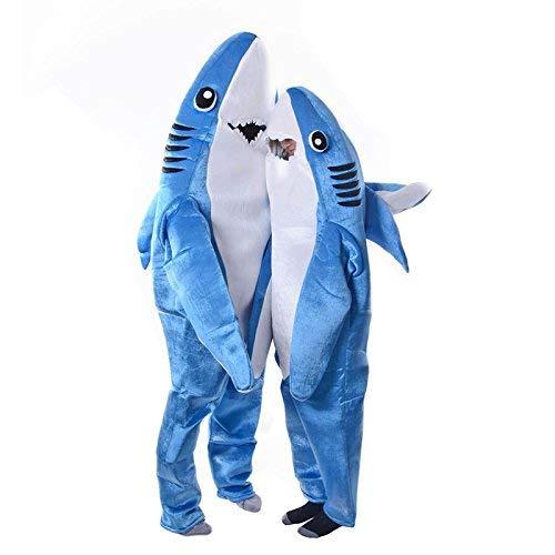 Dastrues Mode für Erwachsene & Kinder Overall Cosplay Kostüm Hai Stage Kleidung Kostüm Halloween Weihnachten Requisiten - Erwachsene, Large
