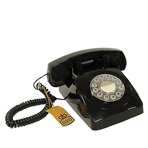 GPO 1970's Retro Style Push Button