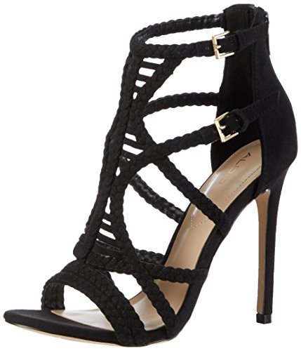 Aldo Women's Sinfony Ankle Strap Sandals, Black (98 Black), 6 UK