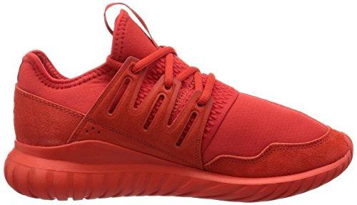 adidas  Tubular Radial J, chaussure de sport Unisexe - enfant Rouge
