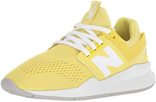 New Balance Damen 247v2 Sneaker, Gelb (Lemonade/White UG), 38 EU -