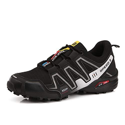 Scarpe da Montagna Uomo Scarpe da Trekking Traspirante Scarpe da Escursionismo Antiscivolo Scarpe da Arrampicata