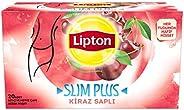 Lipton Slim Plus Kiraz Saplı Bardak Poşet Bitki Çayı, 20