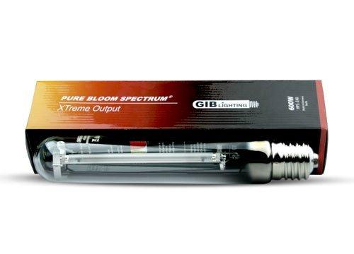 GIB HPS Lampe à Vapeur de Sodium 600 W Xtreme Pure Bloom