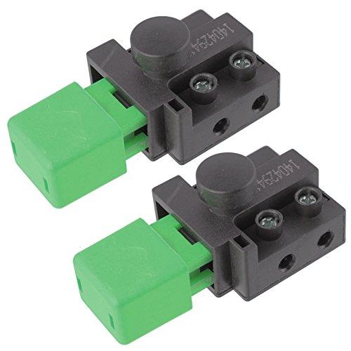 Flymo - Escarificador de césped 2 Unidades, Color Verde