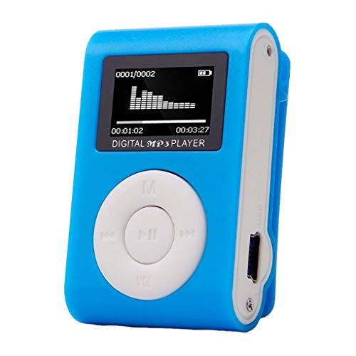 Sunlera Rennen Sport Mini-MP3-USB-Clip MP3-Player LCD-Schirm-Mikro-SD TF Karte stilvolles Design Tragbarer