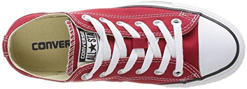 Converse Ctas Core Ox, Baskets mode mixte adulte Rouge (Rouge Brique)