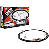 BASICS 21 High Speed Train with Tracks Set Toy for Kids (3+ Years) (Assorted Color)