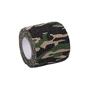 Malloom Camo Militaire Extérieure Tir De Chasse Outil Camouflage Ruban Furtif Wrap Imperméable Durable
