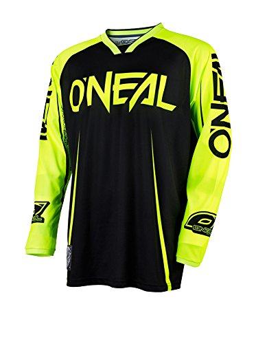 O\'Neal Mayhem Lite Jersey Blocker Schwarz Neongelb MX MTB DH Trikot Motocross Offroad, 0030A-20, Größe XL