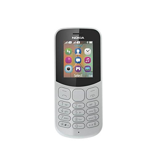 """Nokia 130 DS TA-1017 1.8"""" 68g Grigio Caratteristica del telefono [Germania]"""