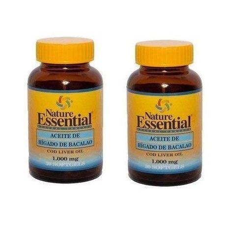 Lebertran 1000 mg. 30 Perlen (Pack 2 u.)