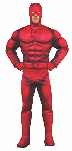 Rubie 's Offizielles Marvel Daredevil Deluxe Kostüm–Erwachsene X-Large (Kostüm Daredevil Amazon)