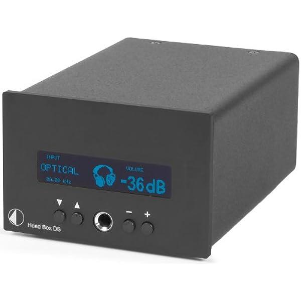 Pro Ject 13182 Head Box Ds Verstärker Für Kopfhörer Schwarz Audio Hifi