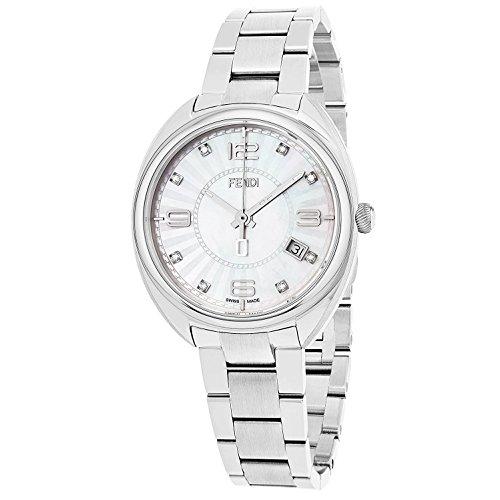 FENDI Women's Momento 34MM Steel Bracelet Swiss Quartz Watch F218034500D1