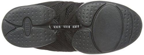 Bloch Criss Cross, Chaussures de danse Moderne et Jazz Fille Noir (Black)