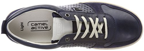 Camel Active Light 11, Sneakers Basses Homme Bleu (Denim)